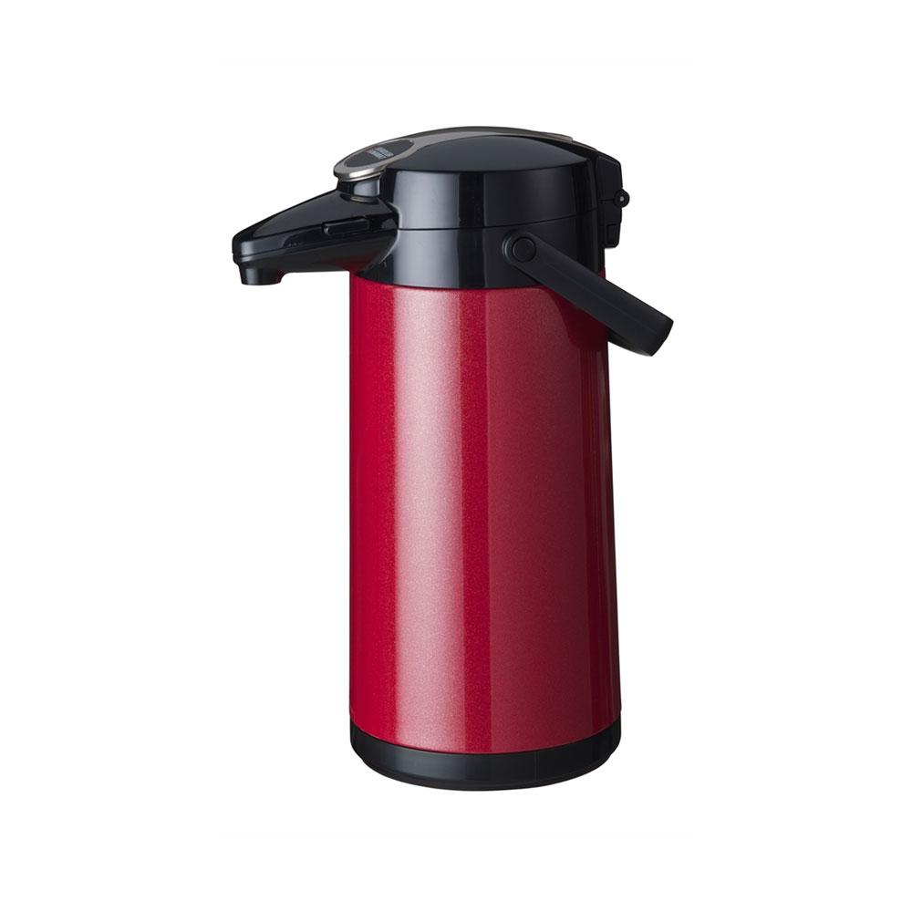 bravilor bonamat airpot furento pumpkanne 2 2 liter in rot metallic kaffee shop k ln. Black Bedroom Furniture Sets. Home Design Ideas
